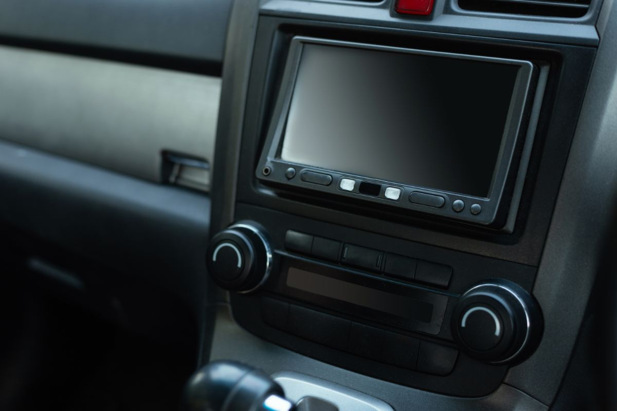 Blank Double DIN Car Stereo