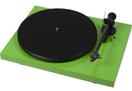 Lime Green Hifi Turntable