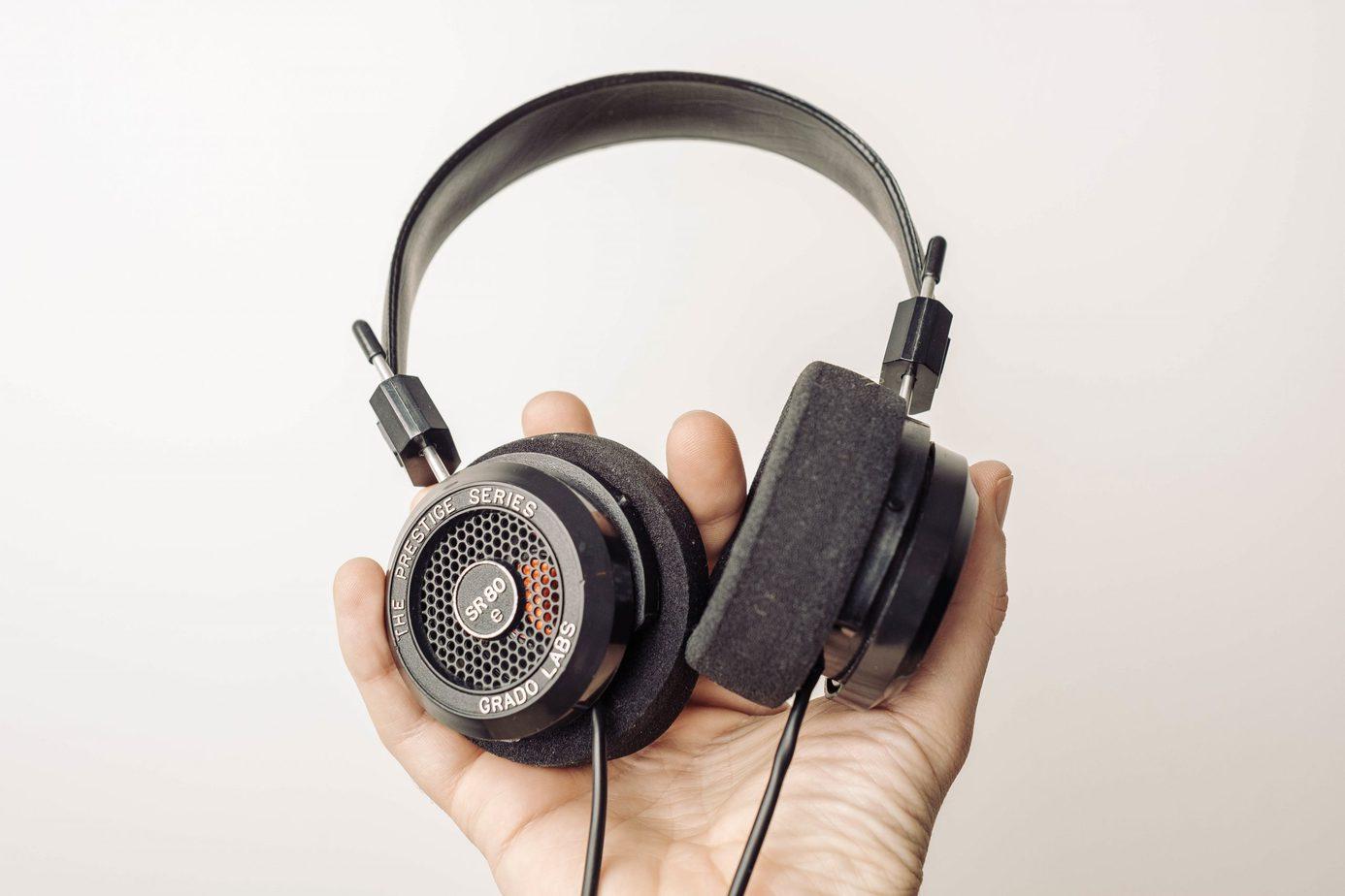 Grado Labs SR80e Open Back Headphones