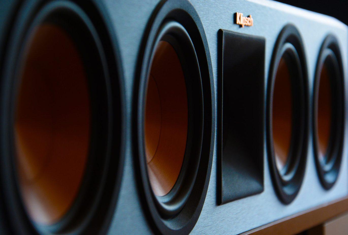 4 Driver Center Channel Speaker Up Close
