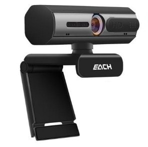 HD web camera with easy installation dock