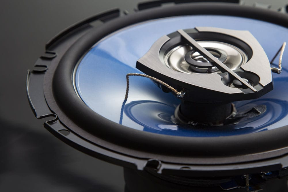 Three-Way Coaxial Car Speaker