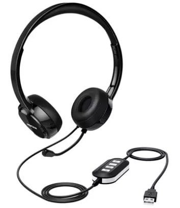 mpow 071 usb headset with controller